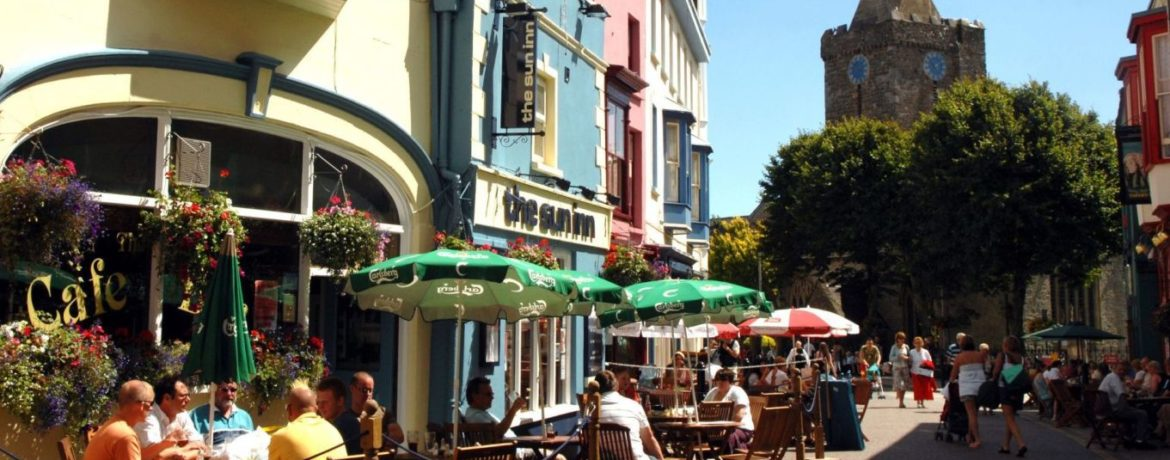 Tenby Cafe Culture