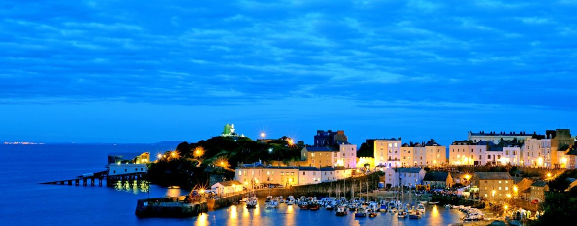 Tenby at night 2010