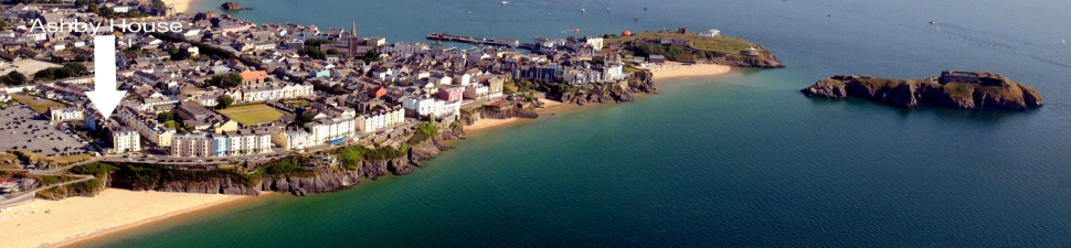 Aerial View of Tenby