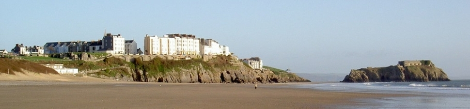 Tenby from the South Beach